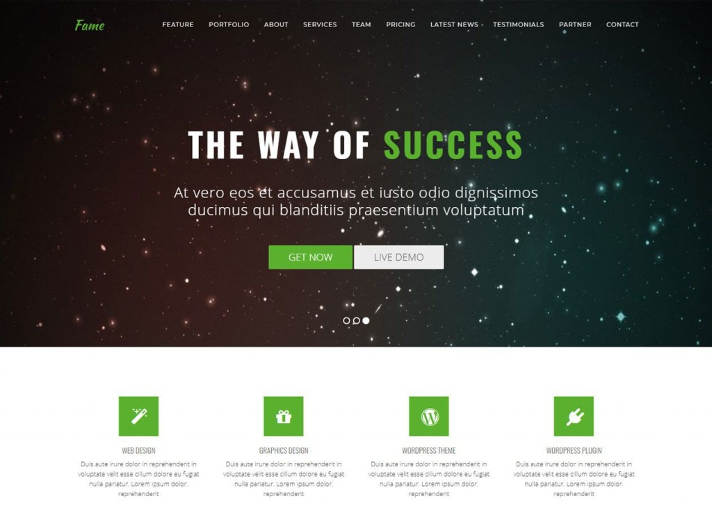 001 Exceptional Free Web Template Download Html Example  Website And Cs With Drop Down Menu Jquery Bootstrap Simple JavascriptLarge