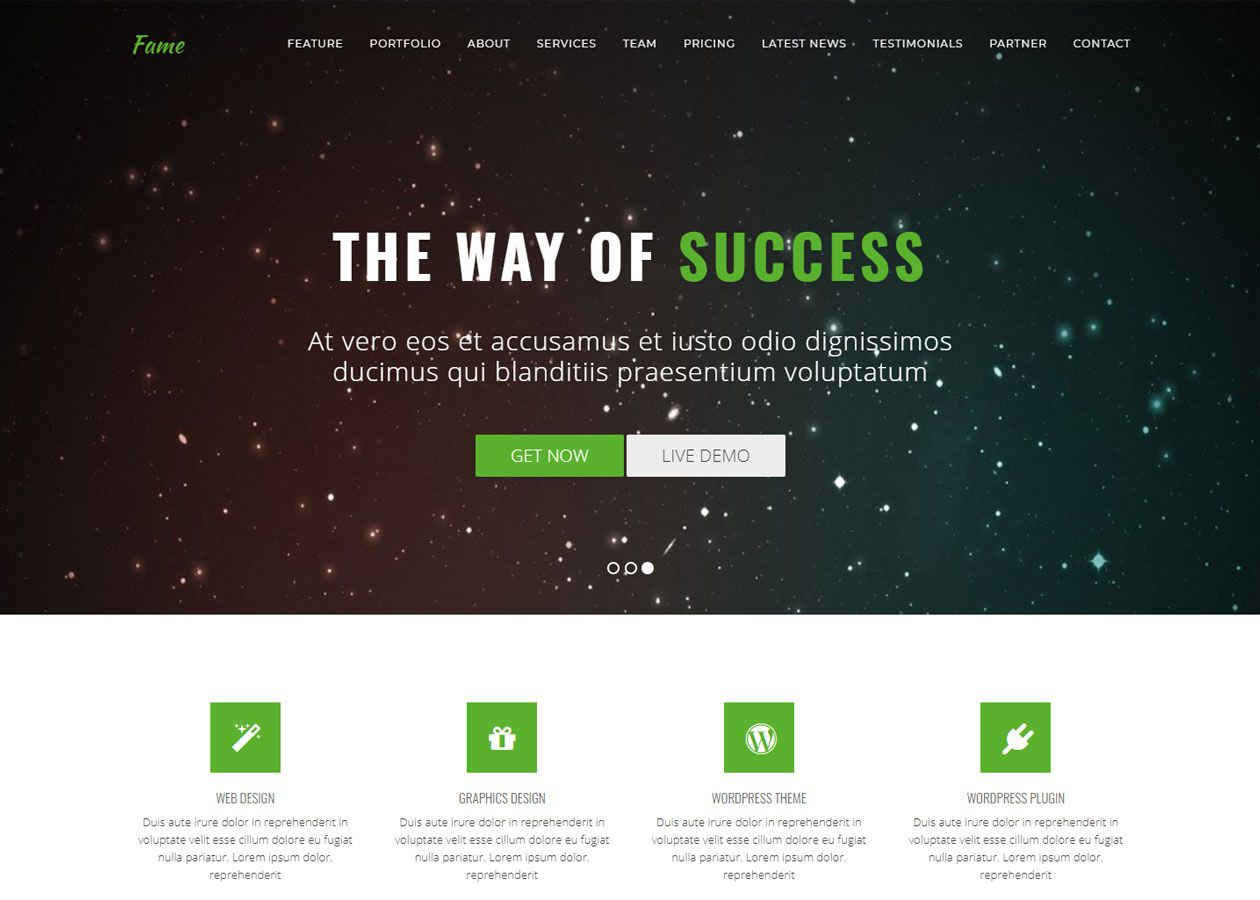 001 Exceptional Free Web Template Download Html Example  Website And Cs With Drop Down Menu Jquery Bootstrap Simple JavascriptFull