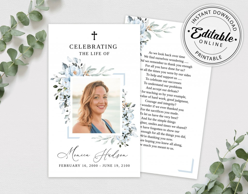 001 Exceptional Funeral Prayer Card Template Inspiration  Templates For Word FreeLarge