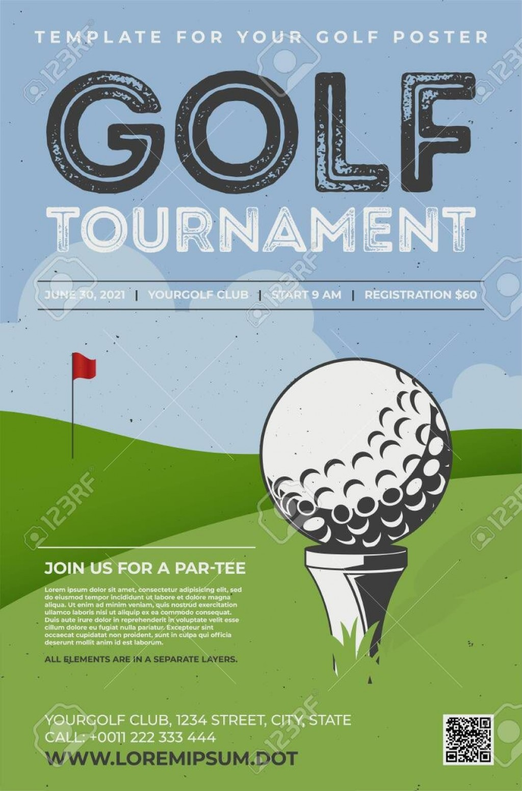001 Exceptional Golf Tee Game Template High Resolution  TriangleLarge