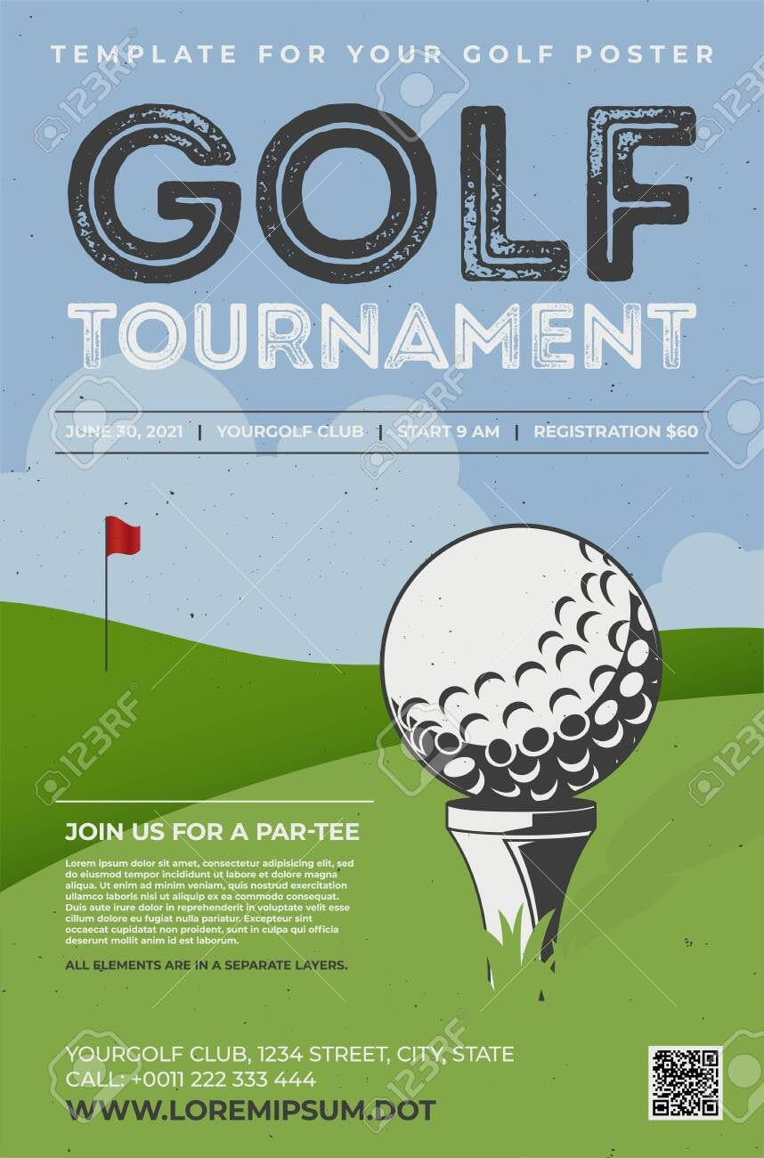 001 Exceptional Golf Tee Game Template High Resolution  TriangleFull
