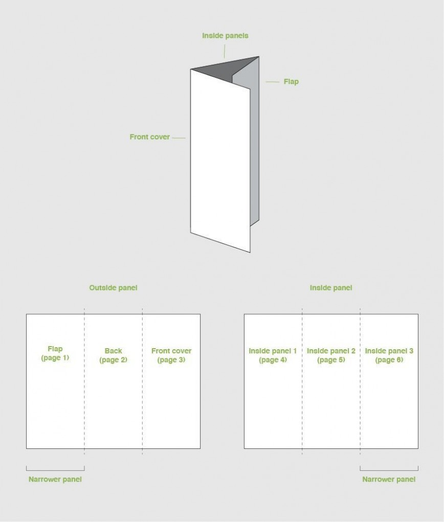 001 Exceptional Indesign Trifold Brochure Template Highest Quality  Tri Fold A4 Bi Free Download868