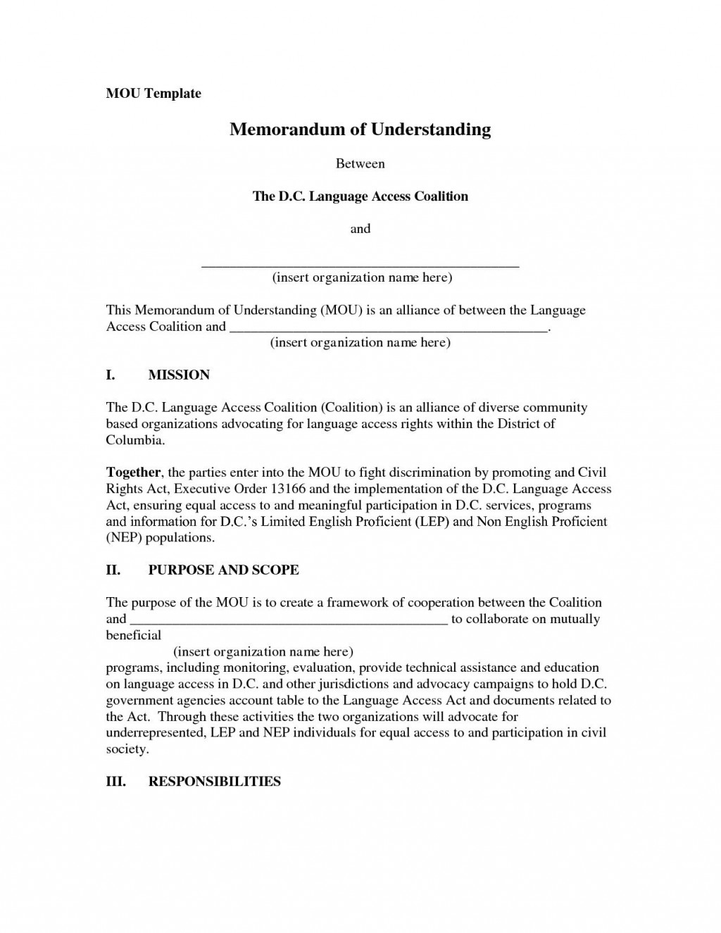 001 Exceptional Memorandum Of Agreement Template Design  Templates Sample Tagalog South Africa Philippine DocLarge