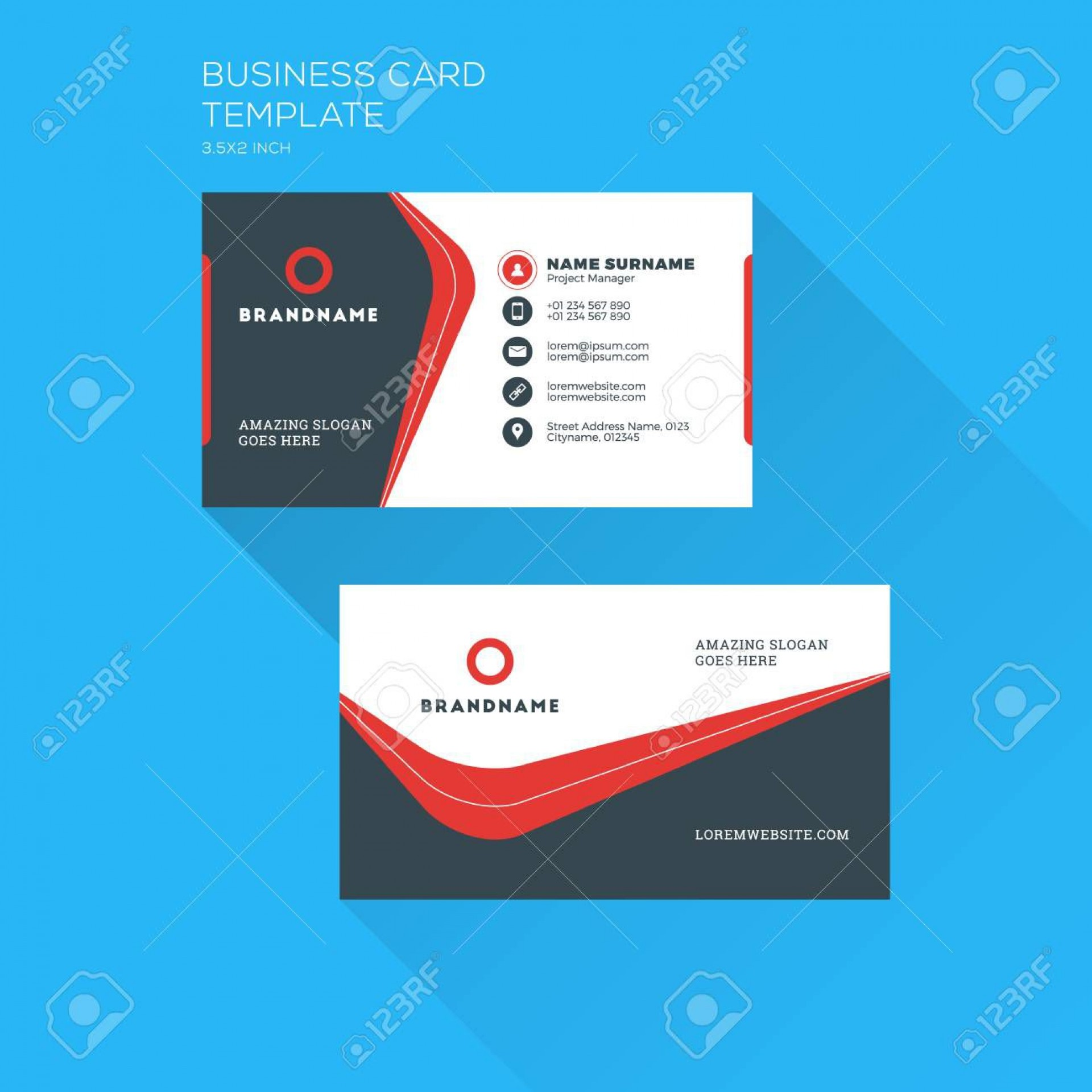 001 Exceptional Personal Busines Card Template Picture  Trainer Design Psd Fitnes1920