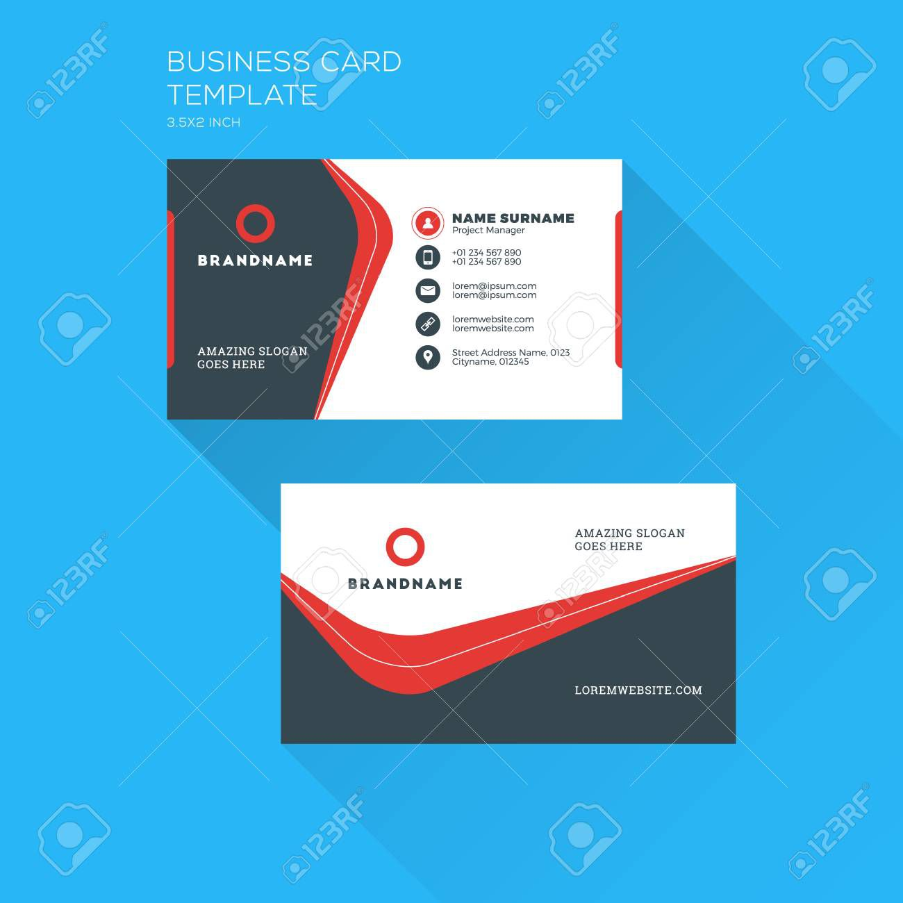 001 Exceptional Personal Busines Card Template Picture  Trainer Design Psd FitnesFull