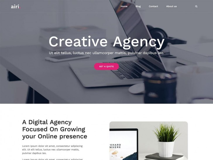 001 Exceptional Professional Busines Website Template Free Download Wordpres Photo 728