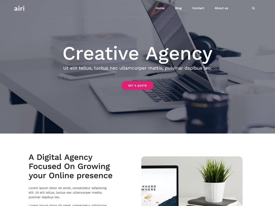 001 Exceptional Professional Busines Website Template Free Download Wordpres Photo 960