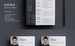 001 Exceptional Psd Cv Template Free Image  2018 Vector Photo And File Download Architect