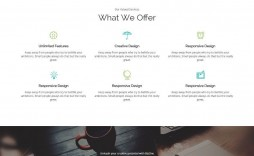 001 Exceptional Single Page Website Template Photo  Templates Free Download One Html