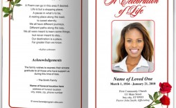 001 Exceptional Template For Funeral Program On Word Picture  2010 Free Sample Wording