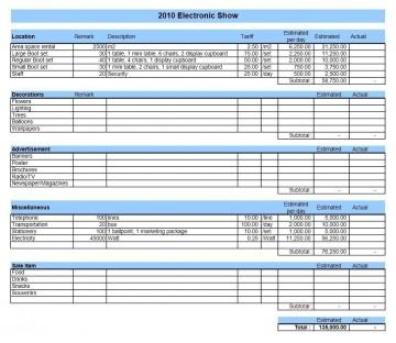 001 Fantastic Event Planning Budget Worksheet Template Photo  Free Download Planner Spreadsheet360