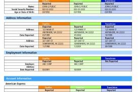 001 Fantastic Fake Credit Report Template High Definition  Karma Equifax