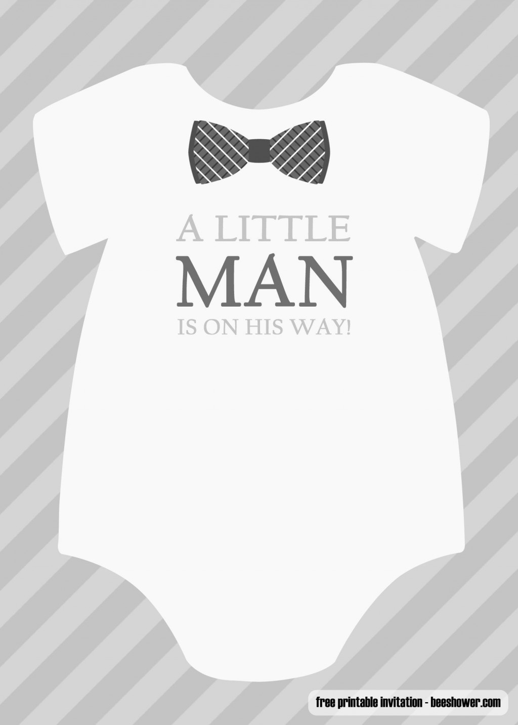 001 Fantastic Free Baby Shower Invitation Printable Boy Sample  For Twin And GirlLarge