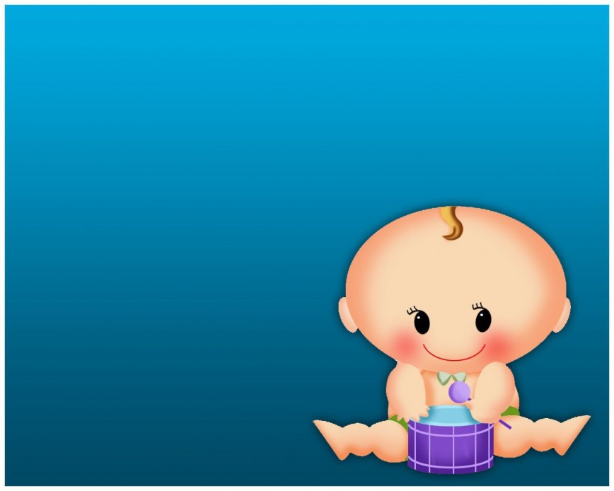 001 Fantastic Free Baby Shower Template For Powerpoint Concept  Background