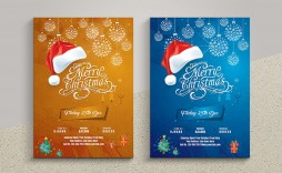 001 Fantastic Free Christma Flyer Template Picture  Templates Holiday Invitation Microsoft Word Psd