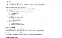 001 Fantastic High School Student Resume Template Resolution  Free Microsoft Word 2010