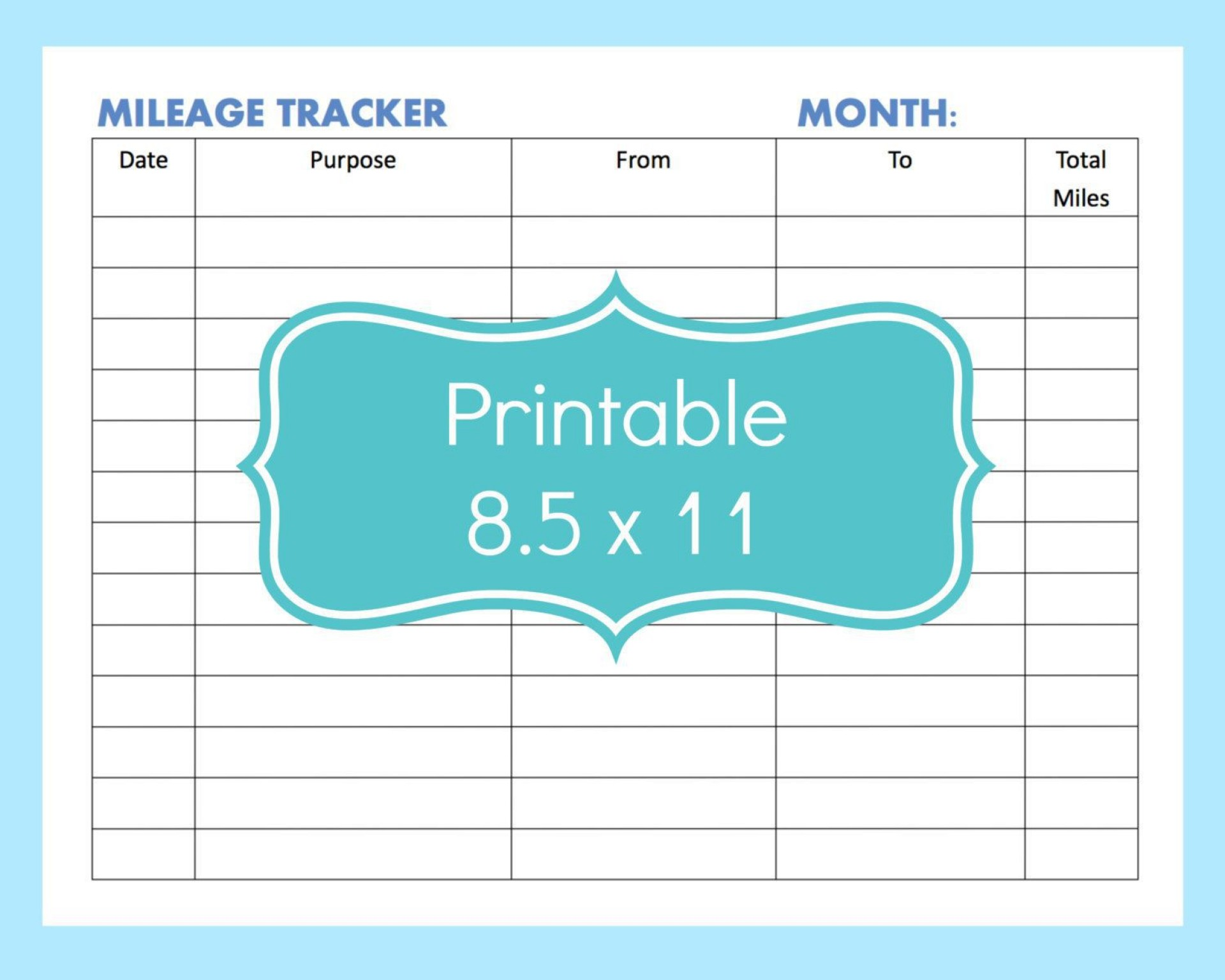 001 Fantastic Mileage Log Printable Template Picture  Book Excel1920