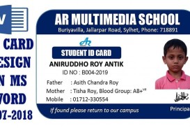 001 Fantastic Student Id Card Template Design  Psd Free School Microsoft Word Download