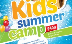 001 Fantastic Summer Camp Flyer Template Highest Quality  Day Microsoft Word Background