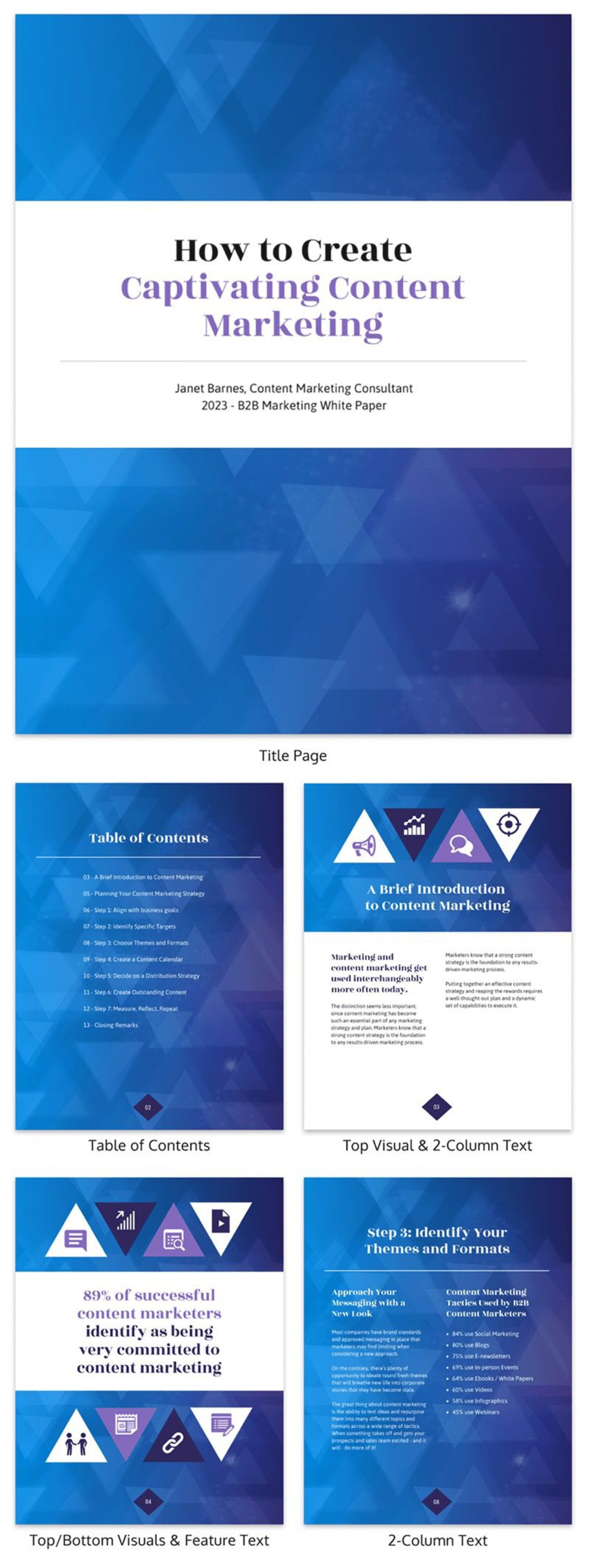 001 Fantastic Technical White Paper Template Photo  Example Doc1920