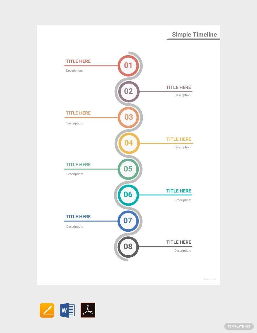 001 Fantastic Timeline Template For Word Idea  Wordpres FreeFull