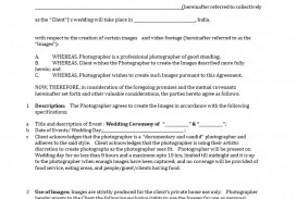 001 Fantastic Wedding Videography Contract Template Highest Quality  Pdf Example Word