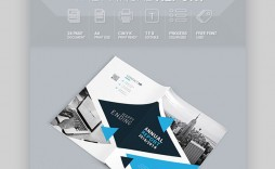 001 Fascinating Annual Report Design Template Indesign  Free Download