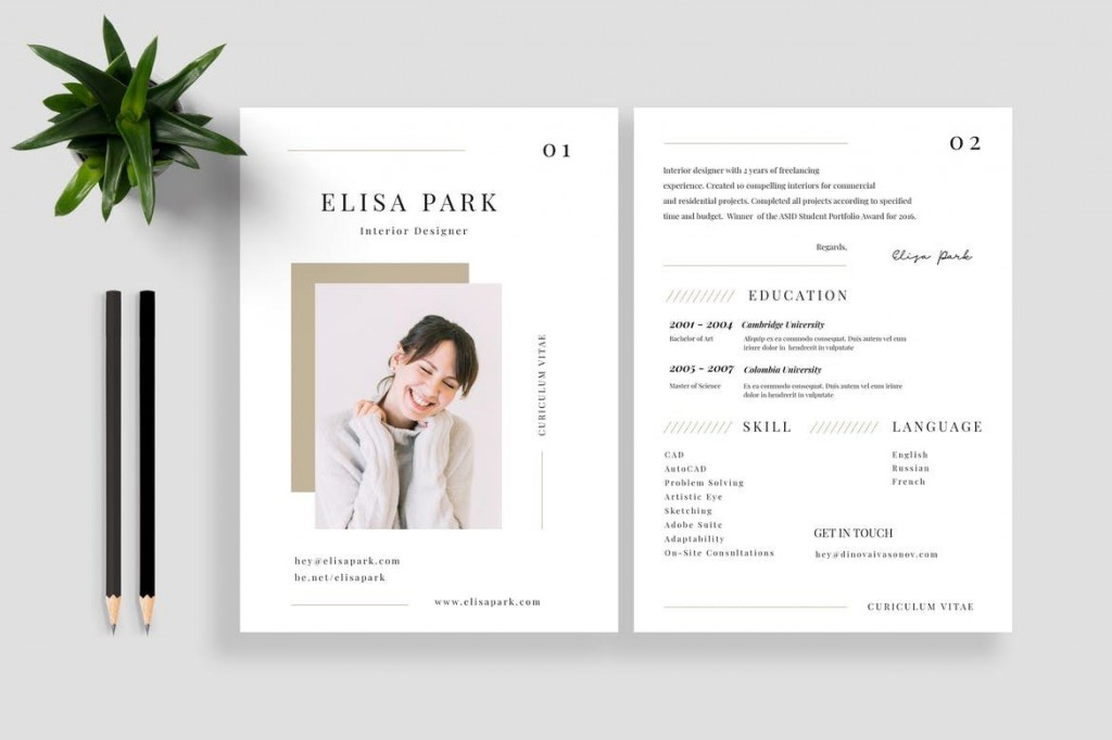 001 Fascinating Best Resume Template 2020 Photo  Top Rated Free Download RedditLarge
