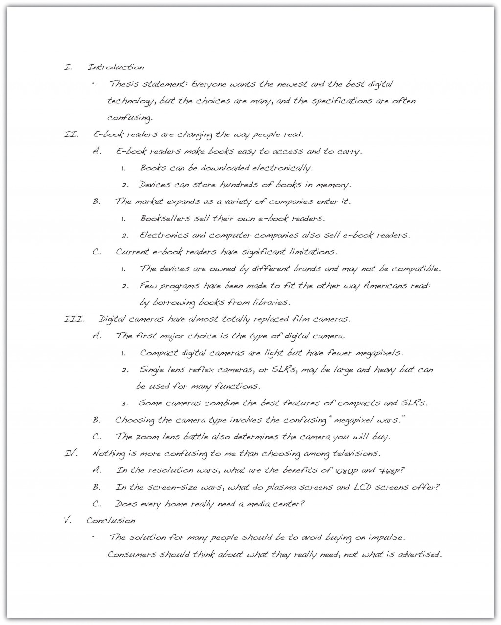 001 Fascinating College Essay Outline Template Pdf Photo Large