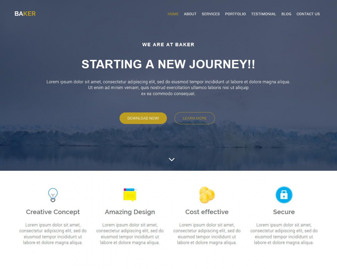 001 Fascinating Free Bootstrap Website Template High Resolution  2020 Responsive Download For Busines Education1400