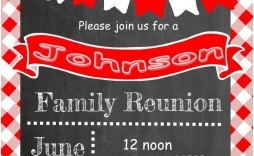 001 Fascinating Free Family Reunion Flyer Template Word High Resolution
