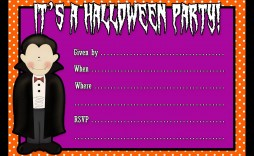001 Fascinating Free Halloween Party Invitation Template Highest Quality  Templates Birthday For Word