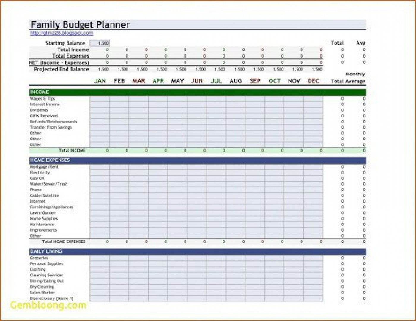 001 Fascinating Free Monthly Budget Template Download Example  Excel Planner1400