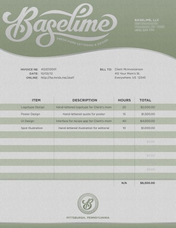 001 Fascinating Freelance Graphic Design Invoice Example Photo  Contract Template Sample360