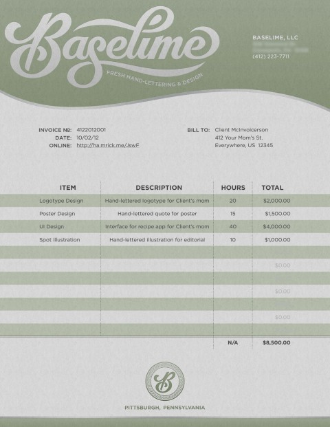 001 Fascinating Freelance Graphic Design Invoice Example Photo  Contract Template Sample480