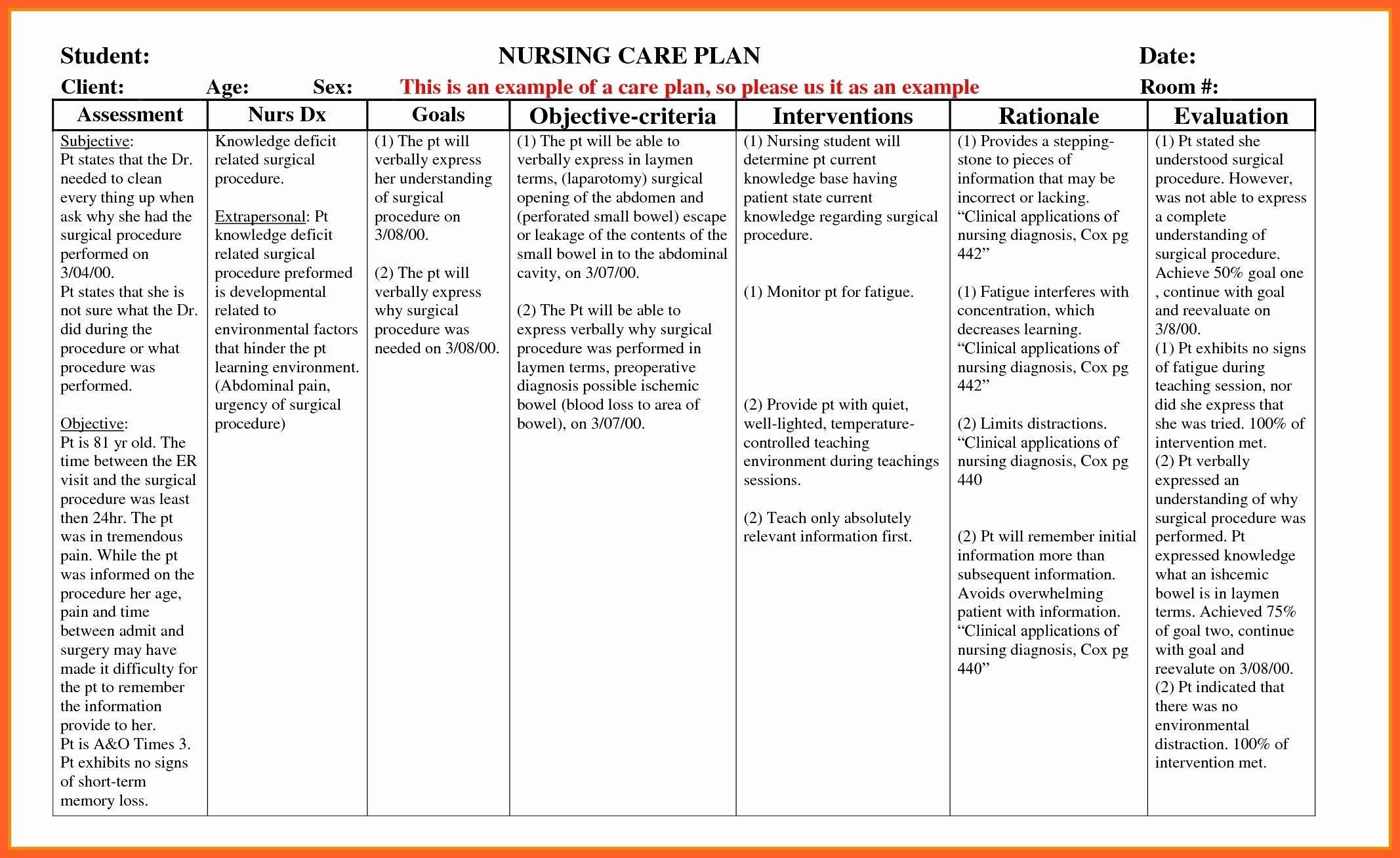 001 Fascinating Nursing Care Plan Template High Def  Example Australia Home For DiabeteFull