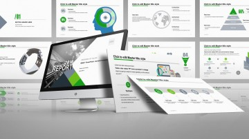 001 Fascinating Professional Ppt Template Free Download Concept  For Project Presentation Powerpoint Thesi360