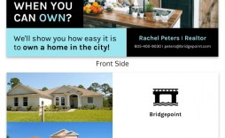001 Fascinating Real Estate Postcard Template Design  Templates For Photoshop Commercial
