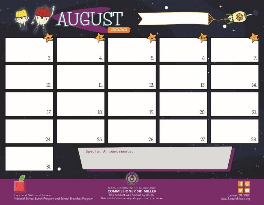 001 Fascinating School Lunch Menu Template Highest Clarity  Calendar Printable Free
