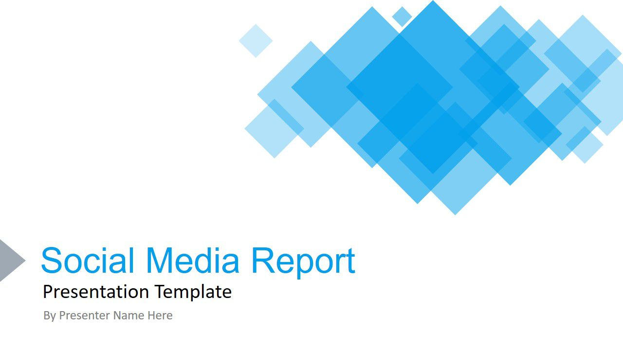001 Fascinating Social Media Ppt Template Free High Definition  Download Report PowerpointFull
