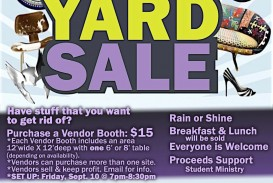 001 Fascinating Yard Sale Flyer Template Design  Free Garage Microsoft Word
