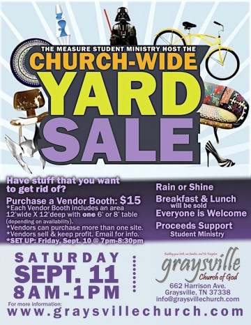 001 Fascinating Yard Sale Flyer Template Design  Free Garage Microsoft Word360
