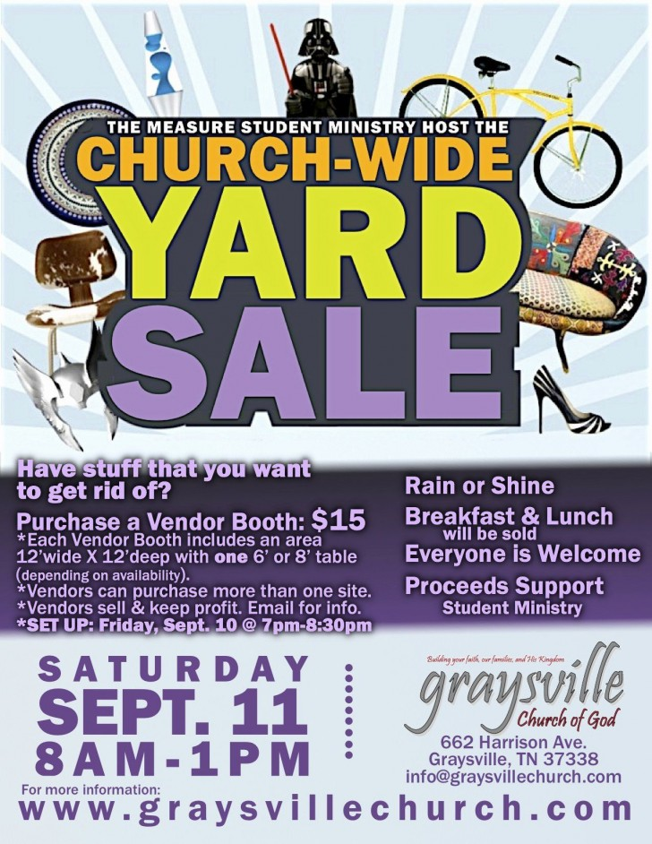 001 Fascinating Yard Sale Flyer Template Design  Free Garage Microsoft Word728
