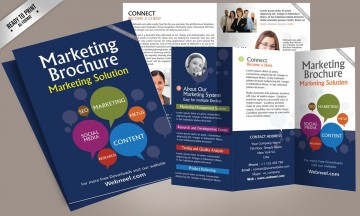 001 Fearsome Brochure Template Free Download Inspiration  For Word 2010 Microsoft Ppt360