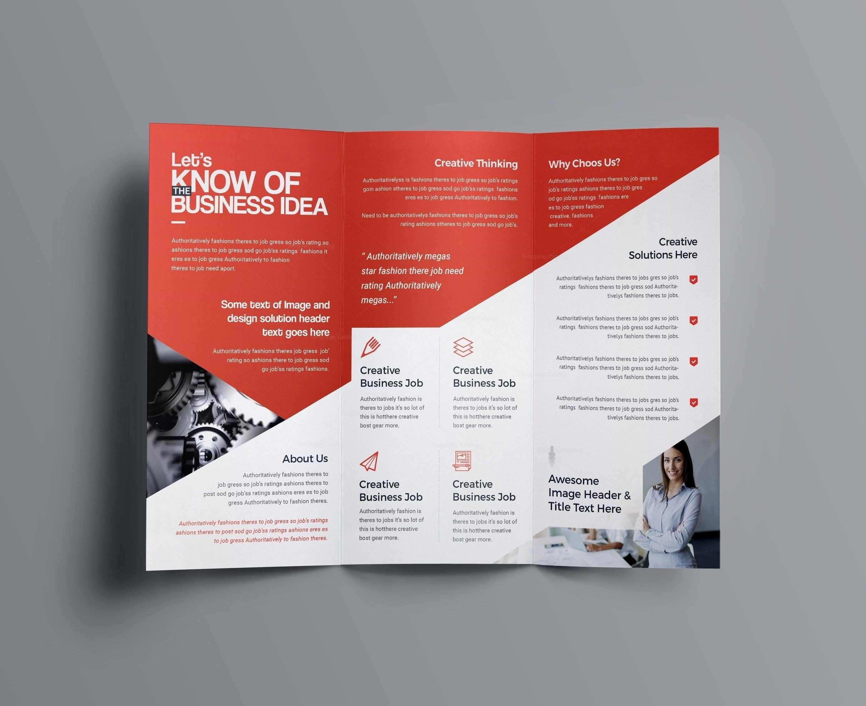 001 Fearsome Brochure Template Photoshop Cs6 Free Download Highest Clarity Full