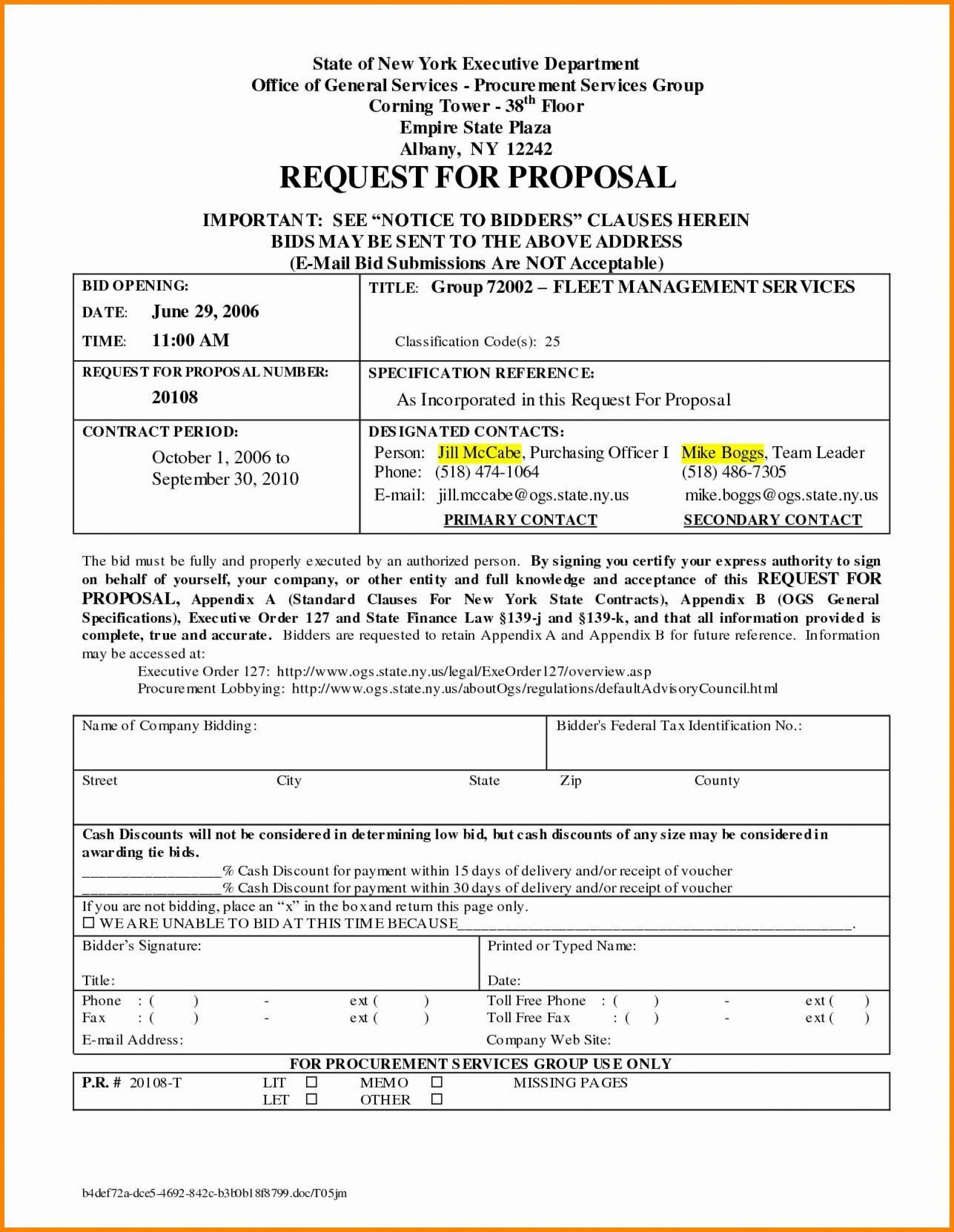 Cleaning Proposal Template Pdf Addictionary