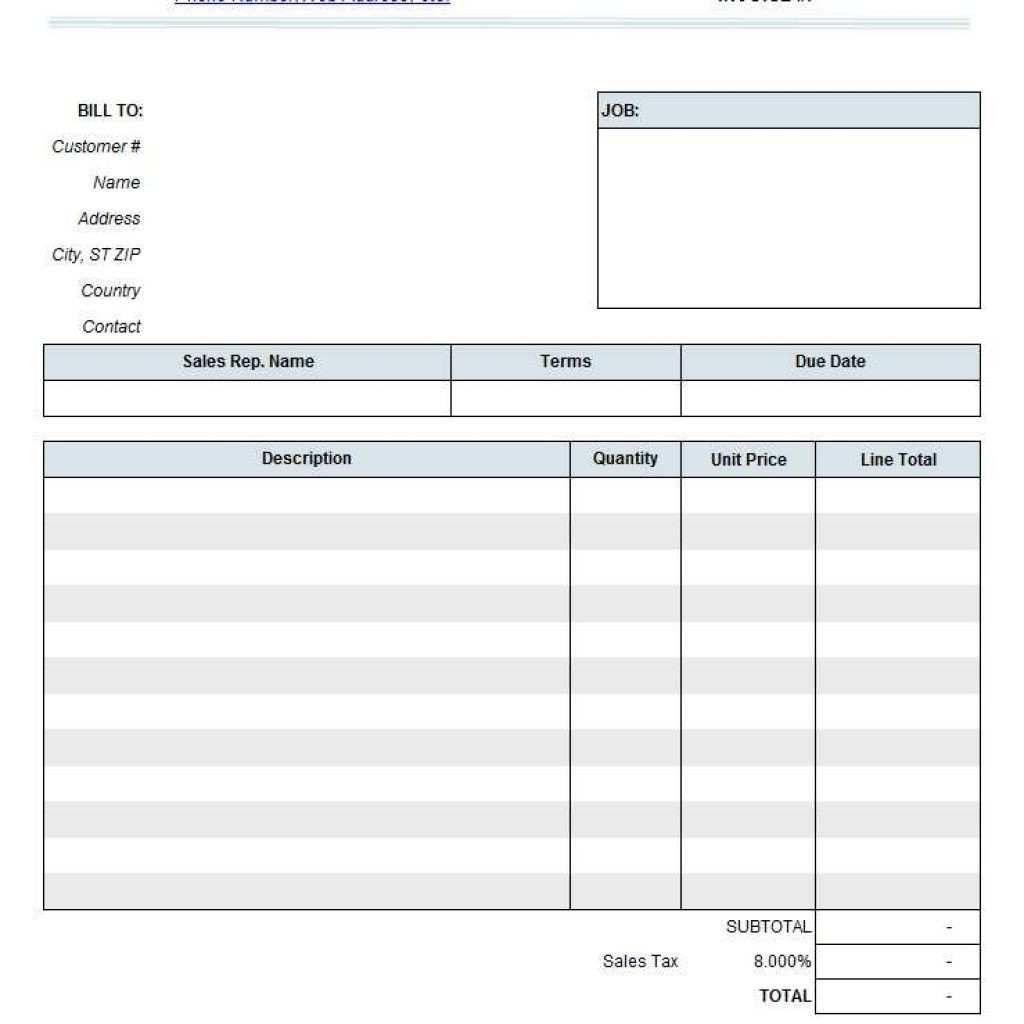 001 Fearsome Consulting Invoice Template Word High Def  Service Consultant Microsoft ContractorFull