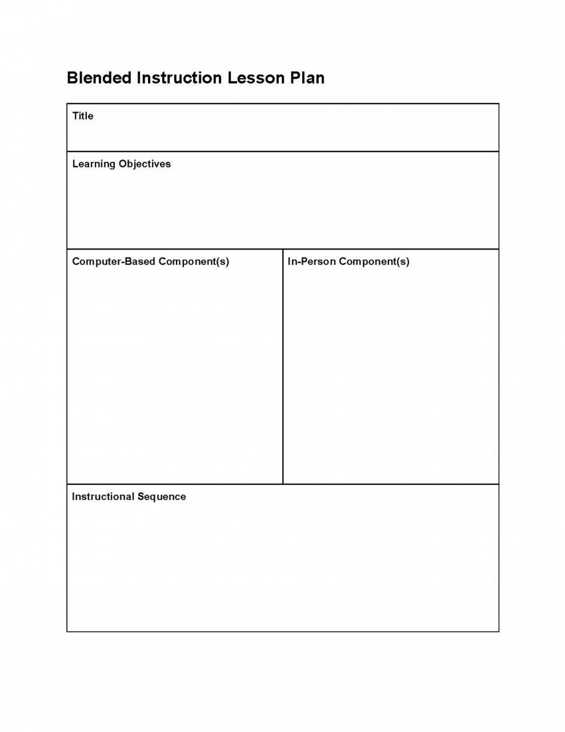 001 Fearsome Editable Lesson Plan Template Elementary Example 1920