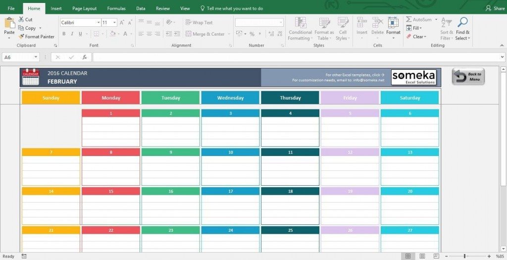 001 Fearsome Free Calendar Template Excel Photo  Monthly 2020 Perpetual 2019Large