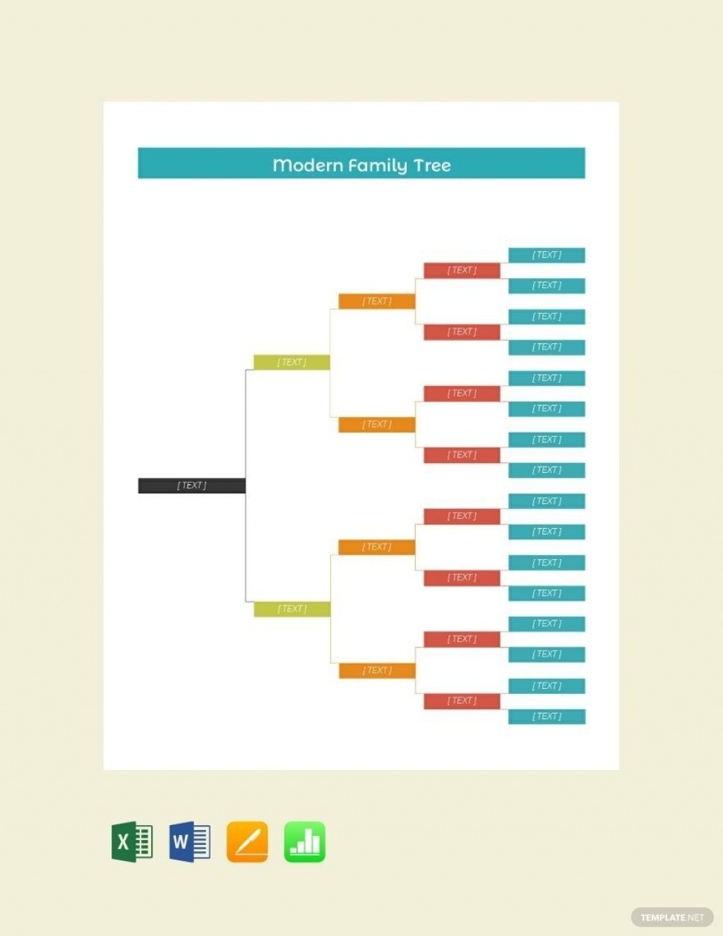 001 Fearsome Free Editable Family Tree Template For Mac Inspiration Large